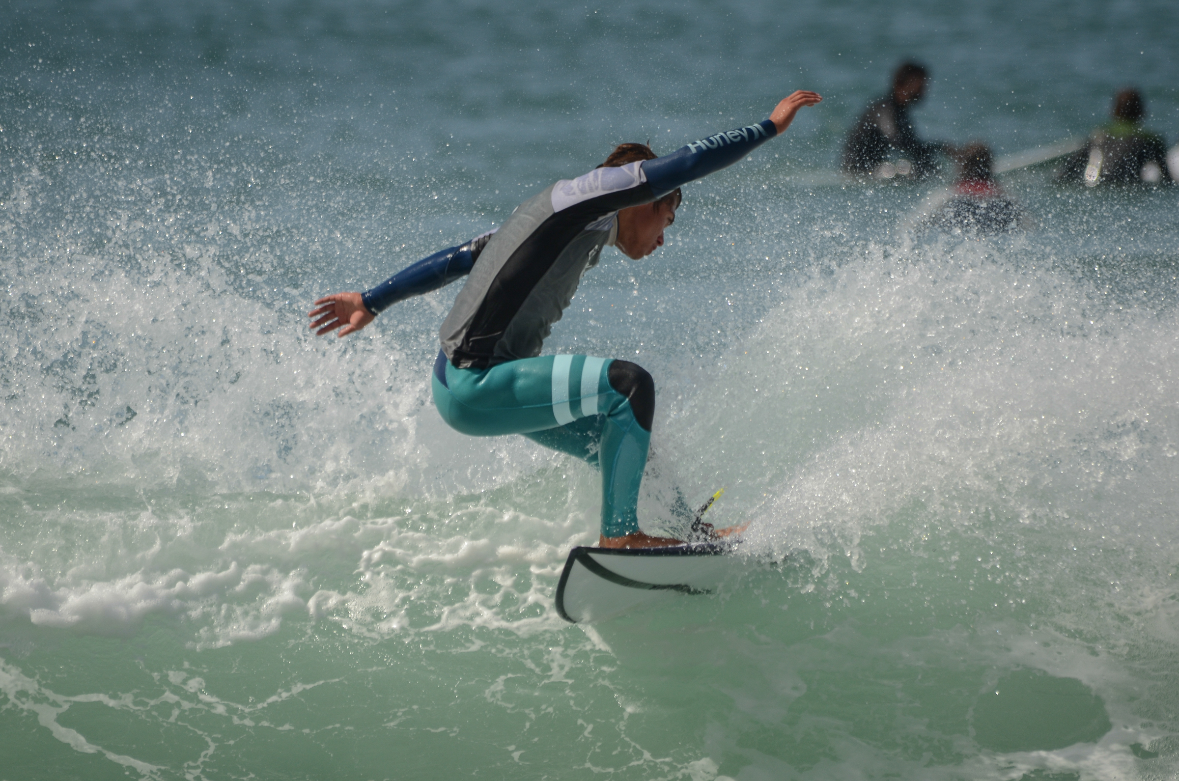 NSL No Pro surf competition at Arrifana beach