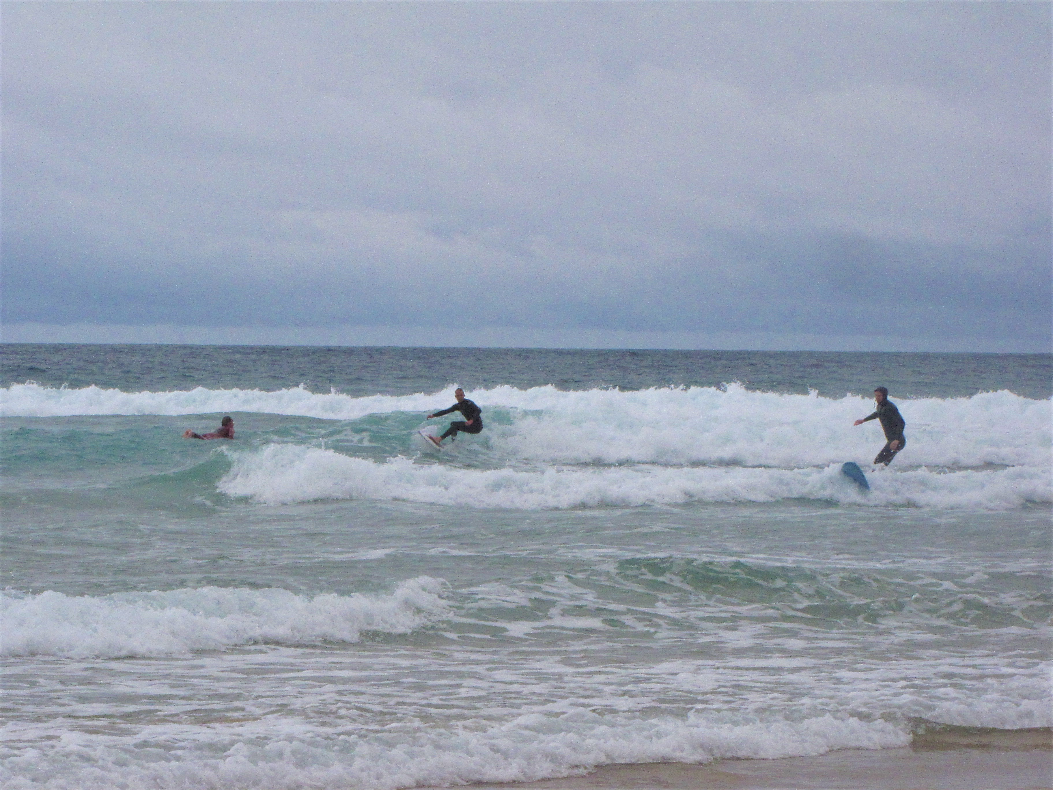 after lunch tonel surf guiding