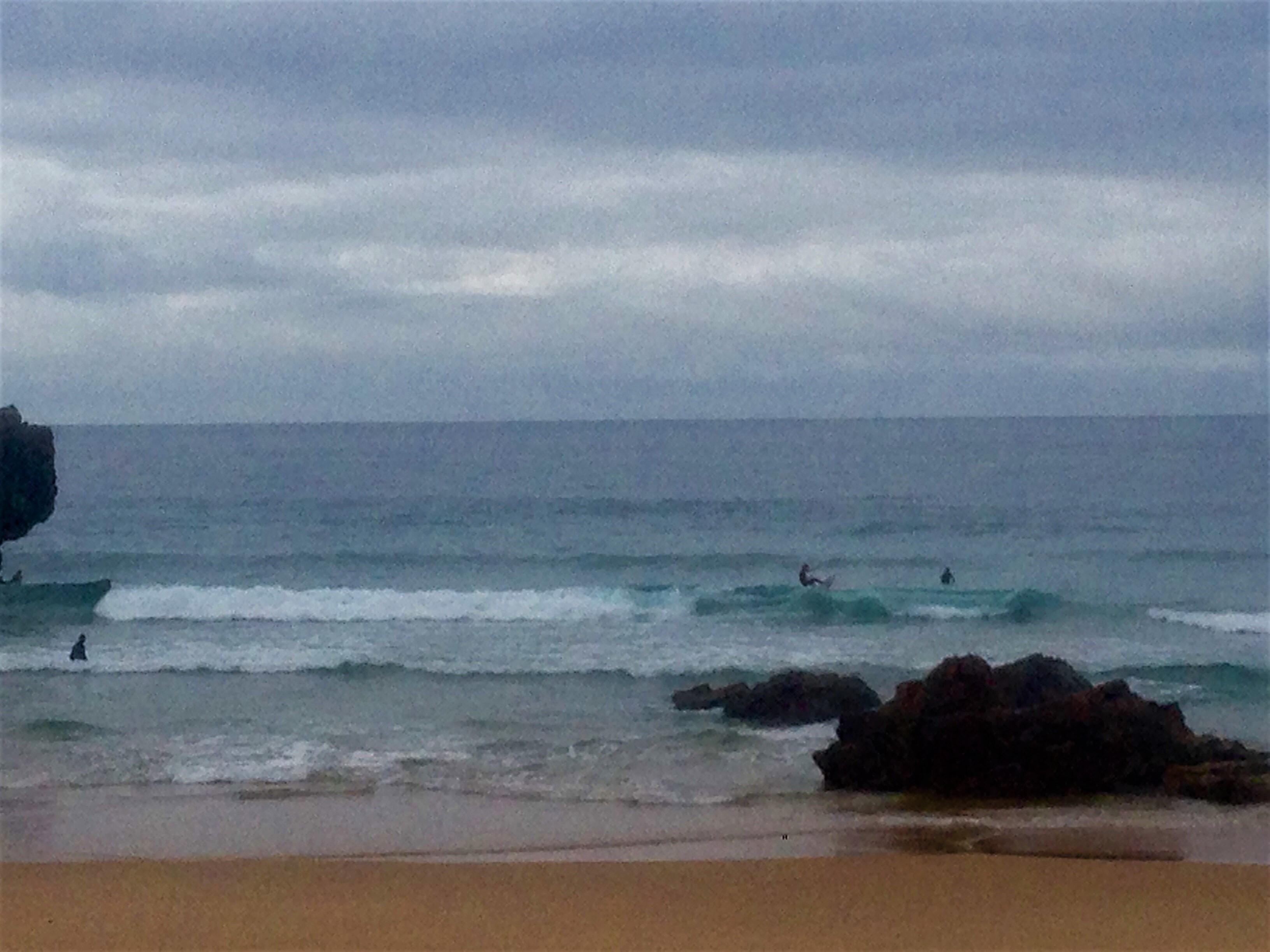 tonel off the lip surf