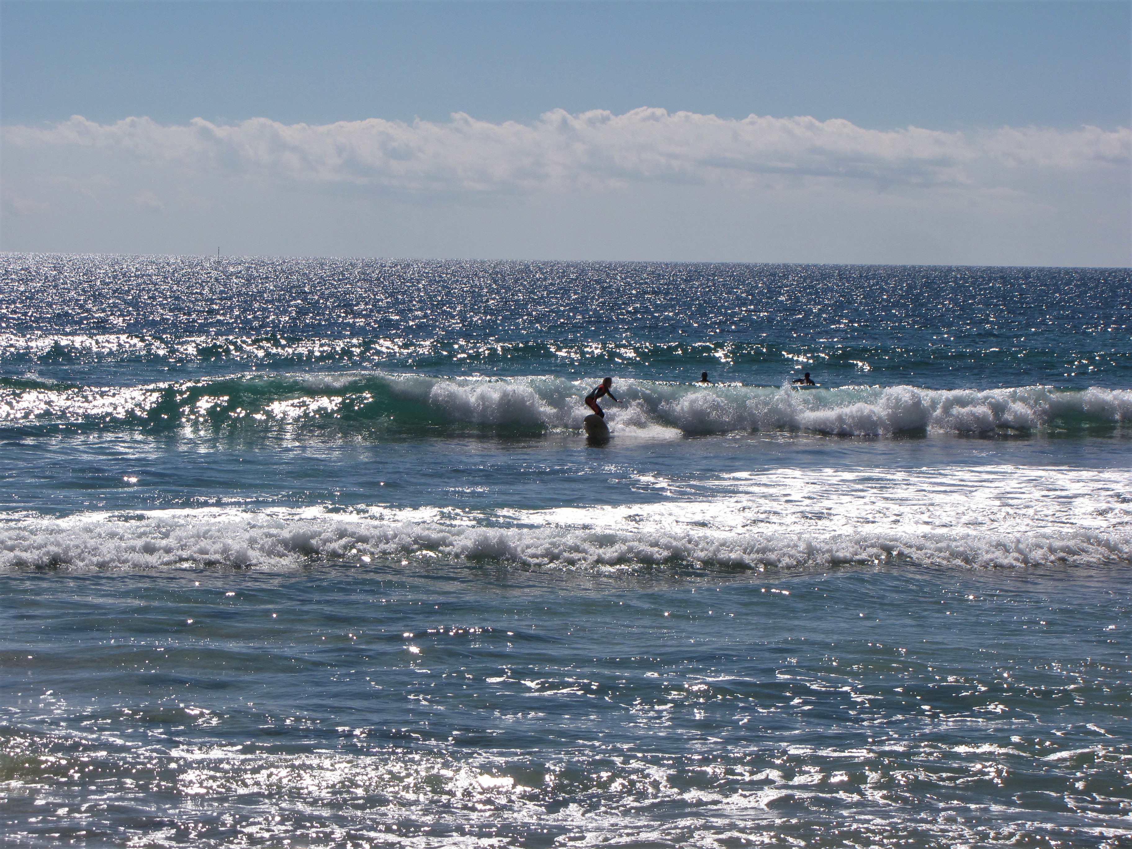 not a small wave at all! This could be you