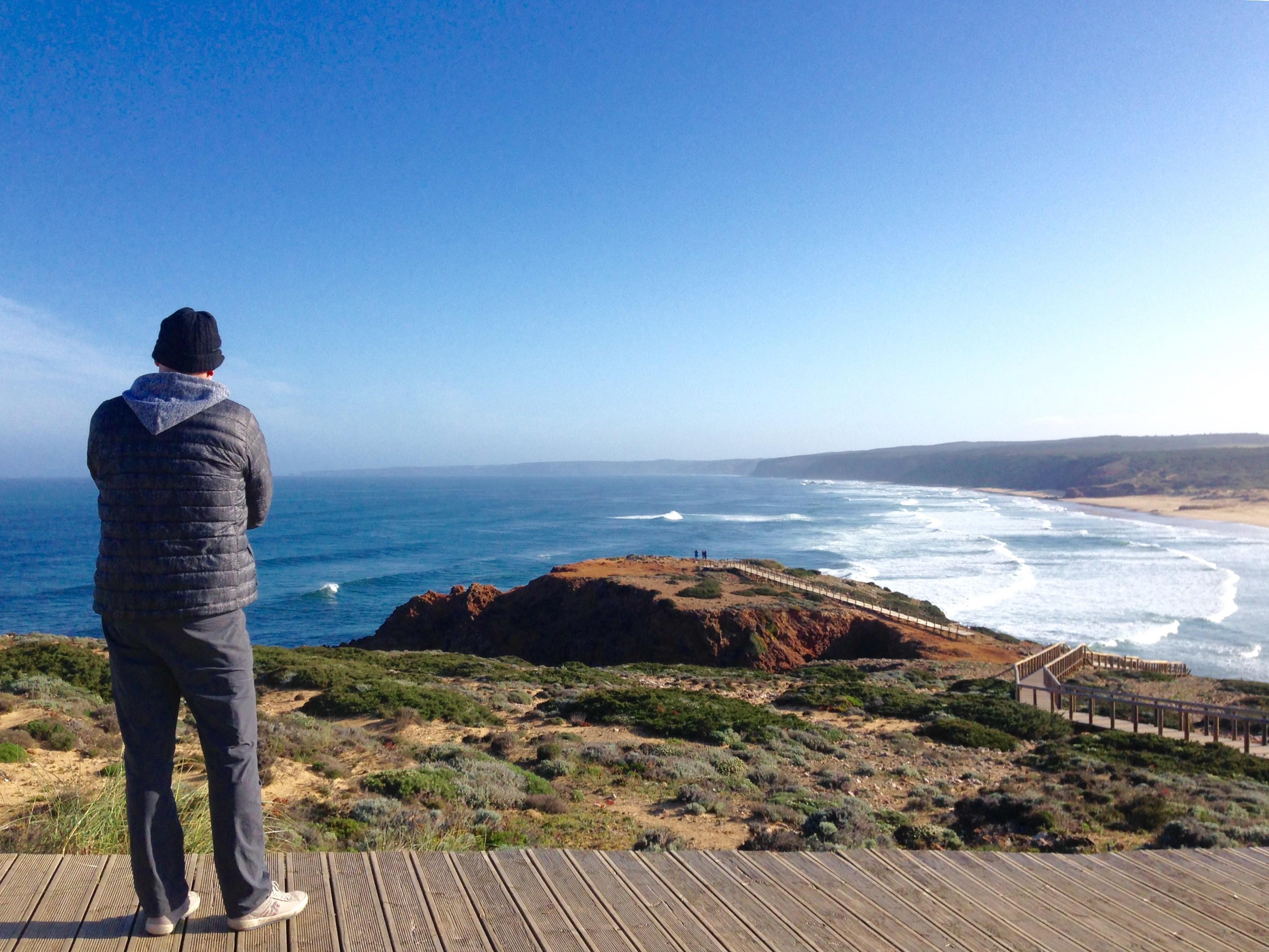 view bordeira surf beach