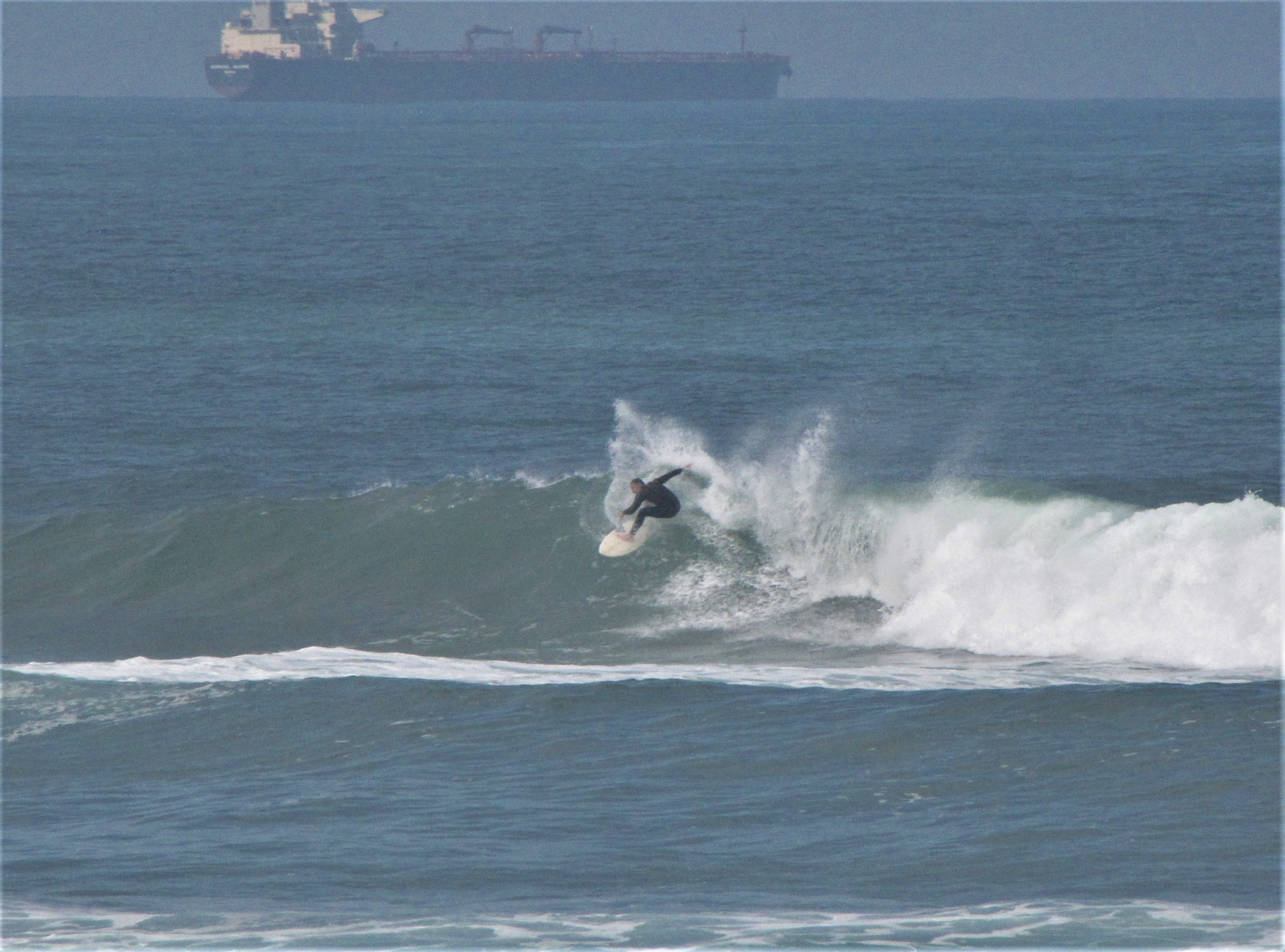 porto surfer ripping