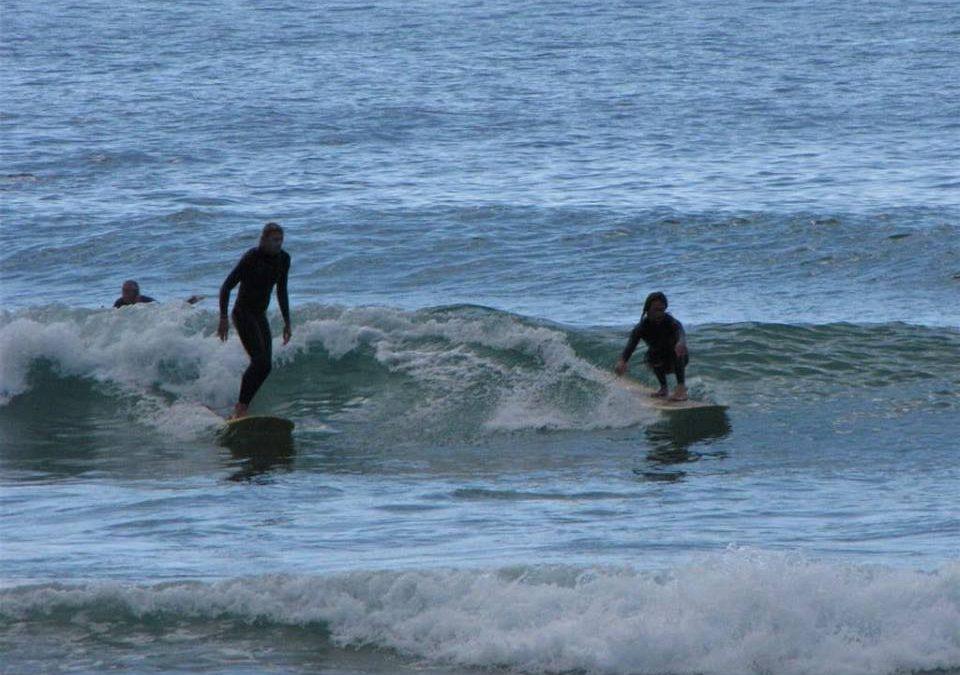Surfing fun in Praia da Luz