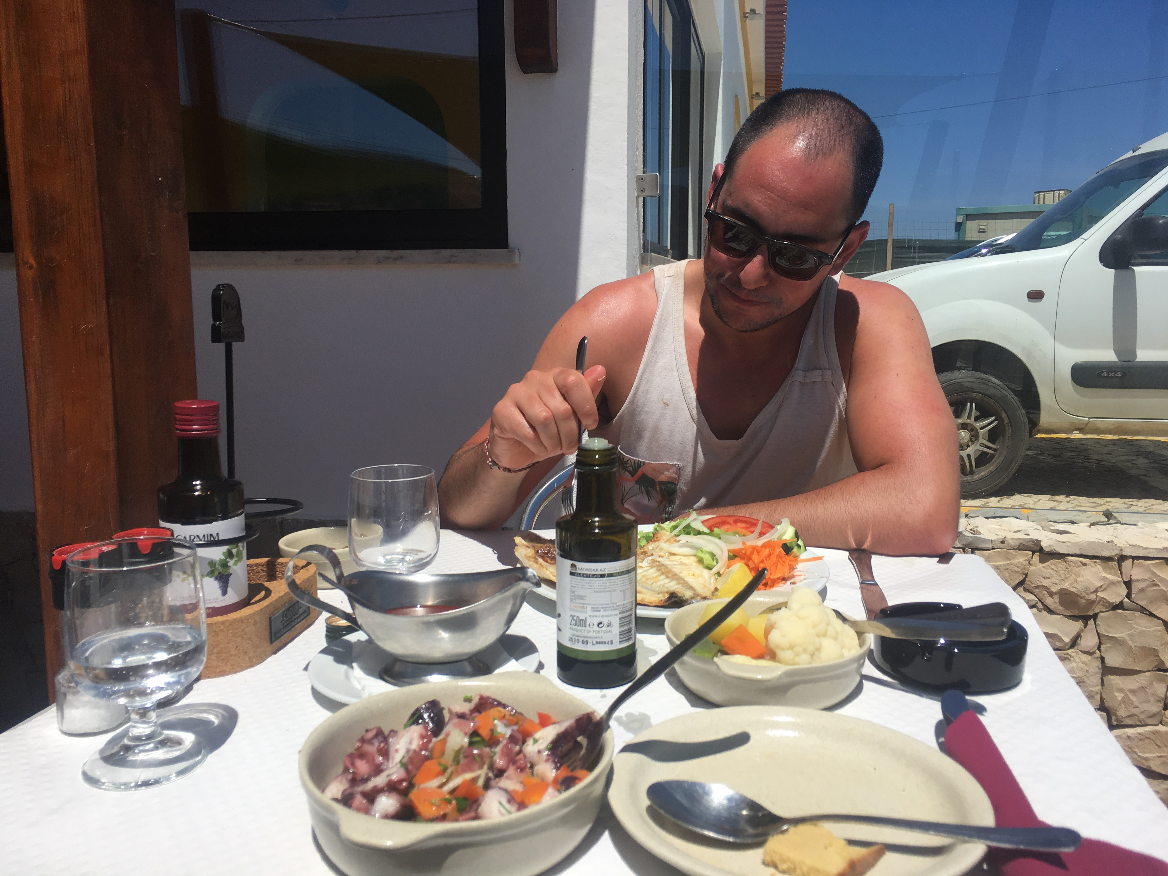arrifana after surf lunch