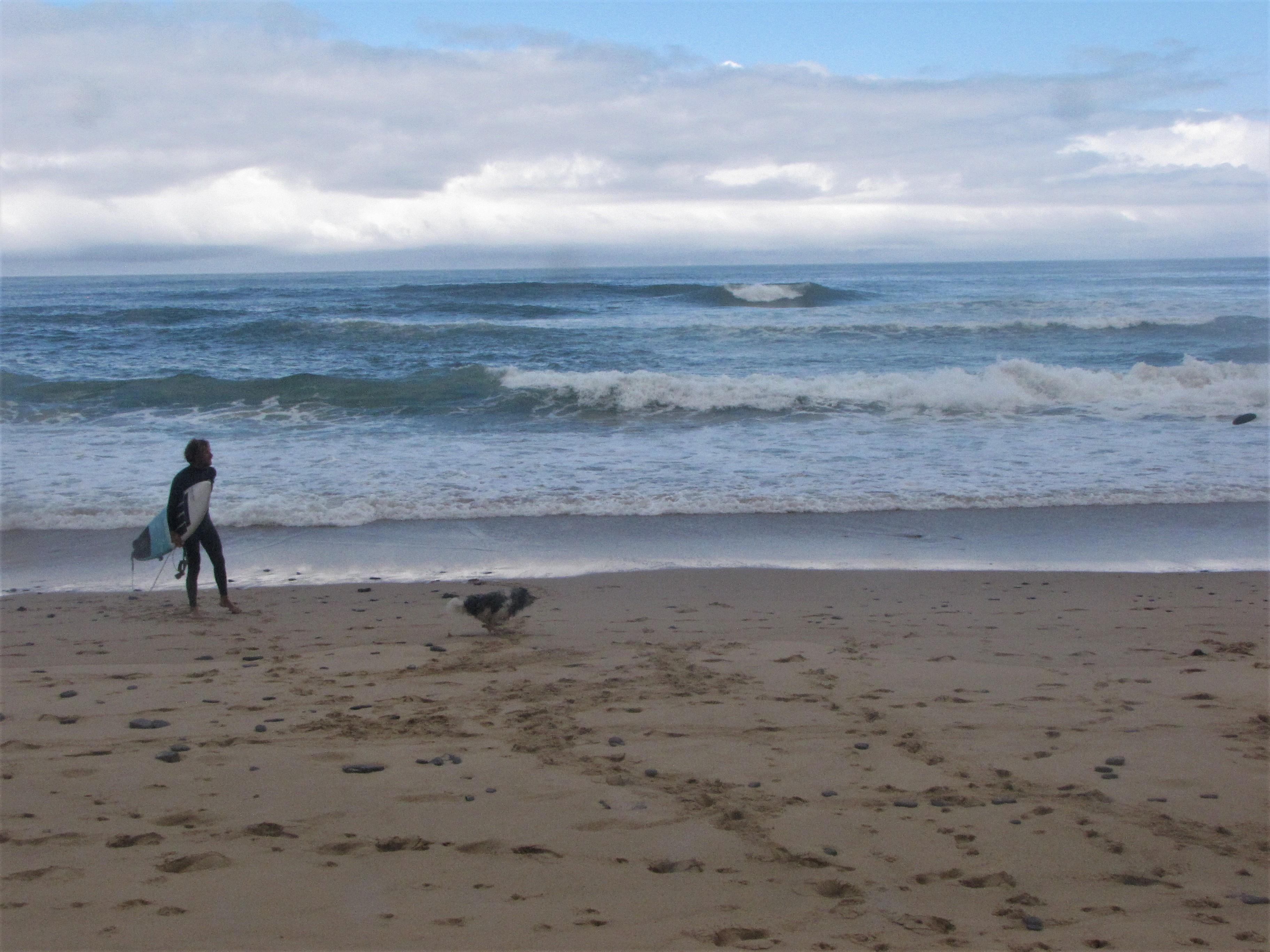 cordoama beach with piri and sergio