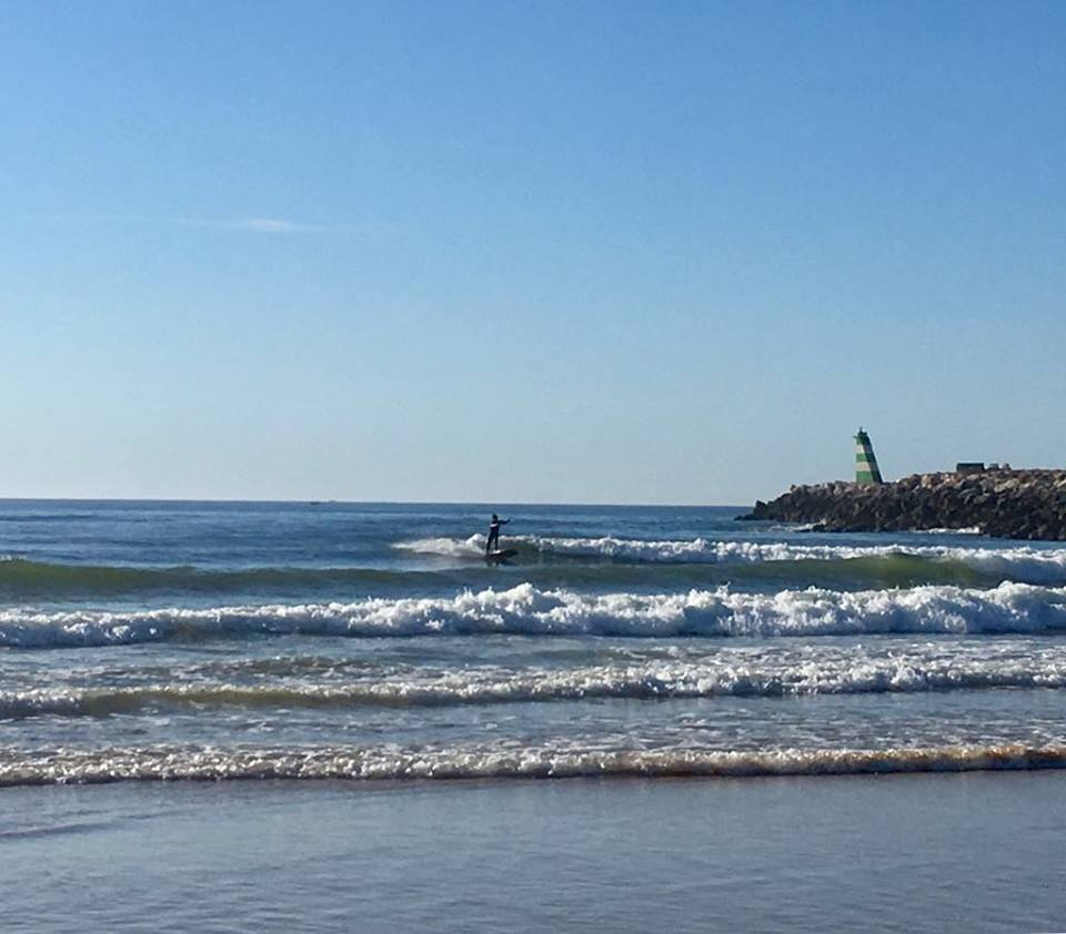 meia praia longboard