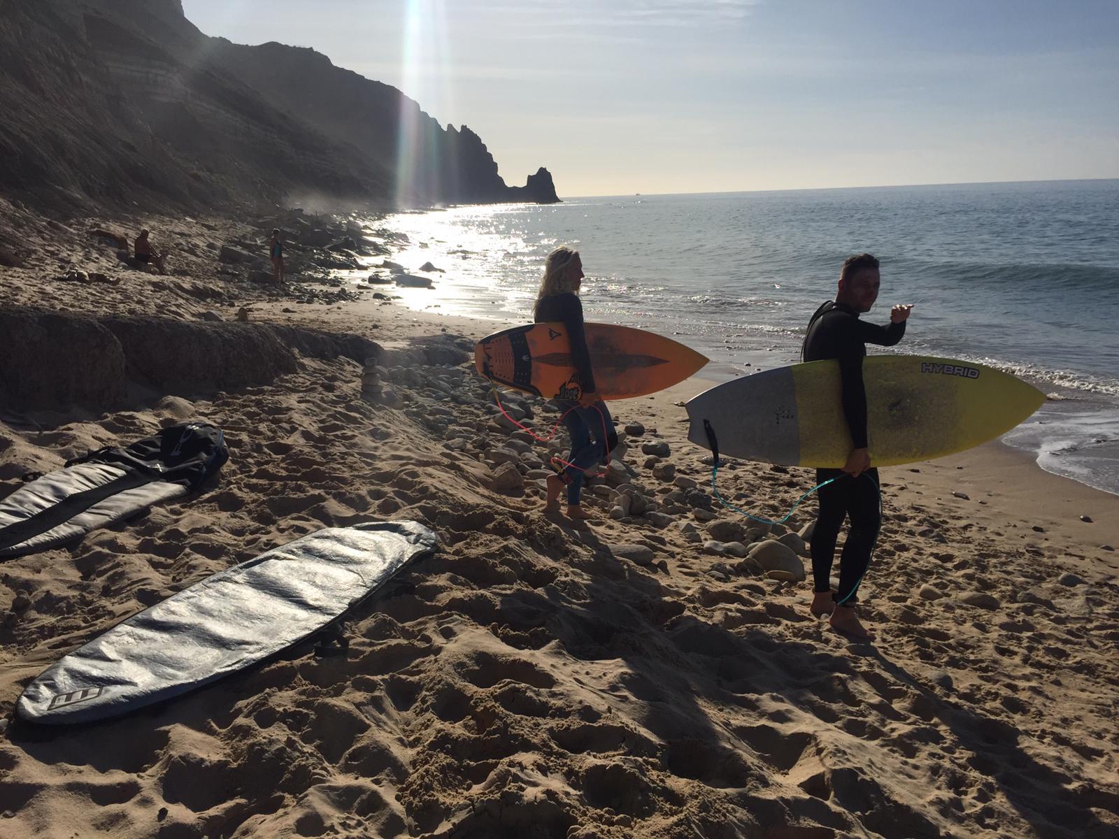 luz surfers
