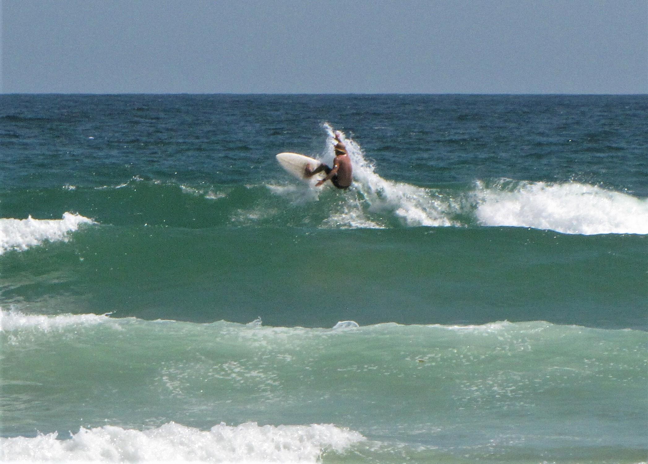 meia praia surf good turn