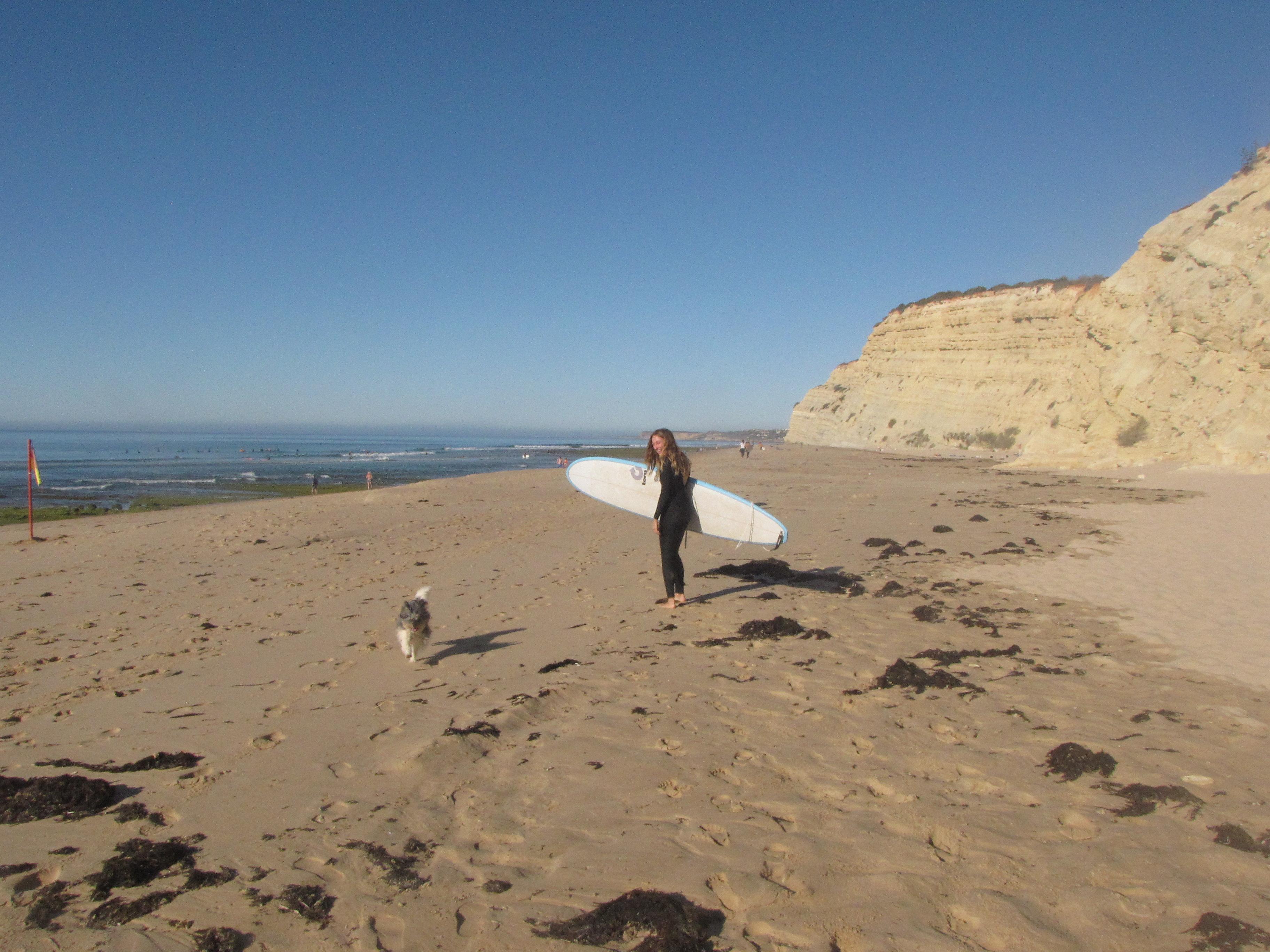 porto de mos surf girl