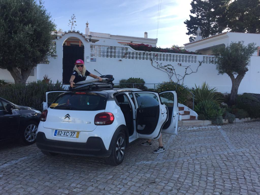 surf rental car