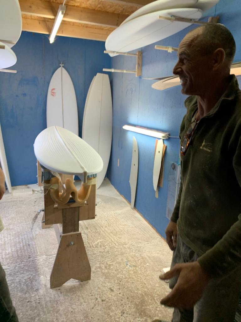 uwe clube surfboard shaper