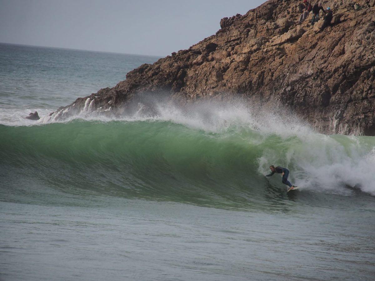 surf zavial barrel set up