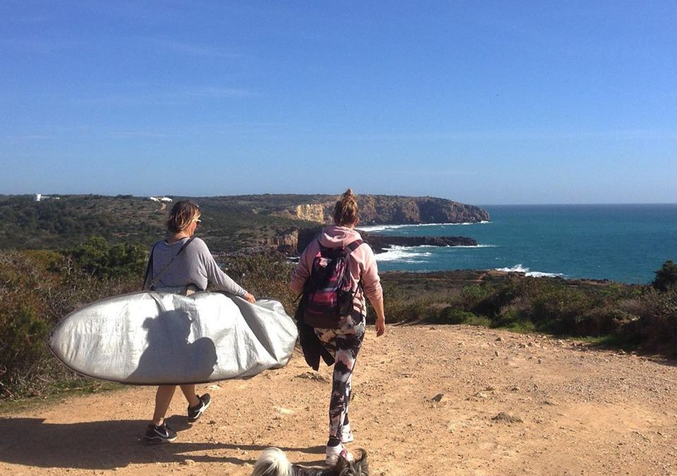 surfguide algarve searching for waves