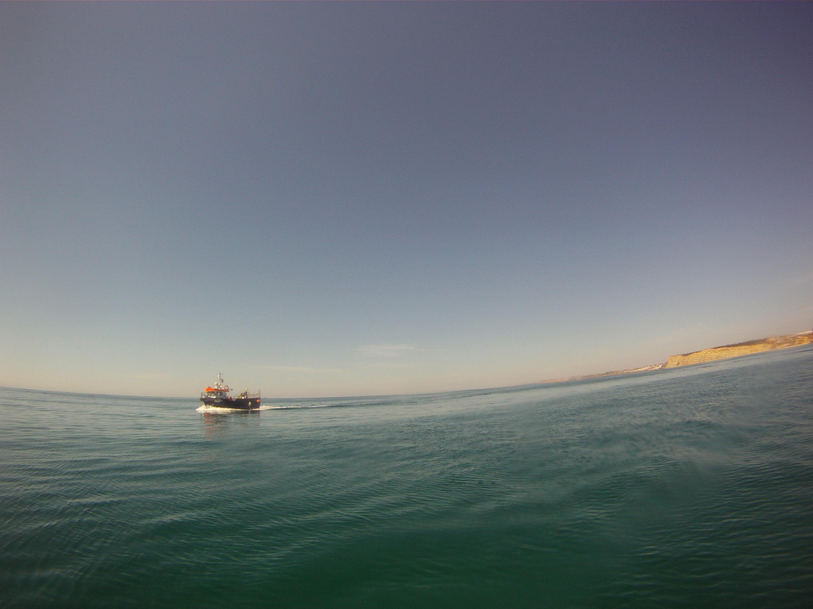 meia praia fishing boat