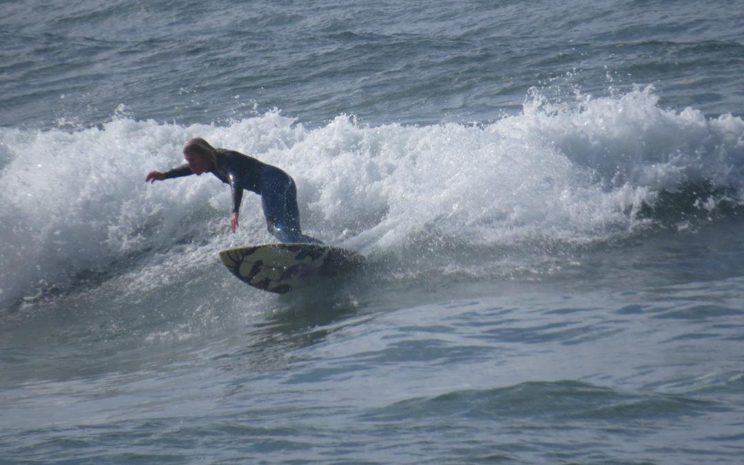 Surfprise at Praia da Luz