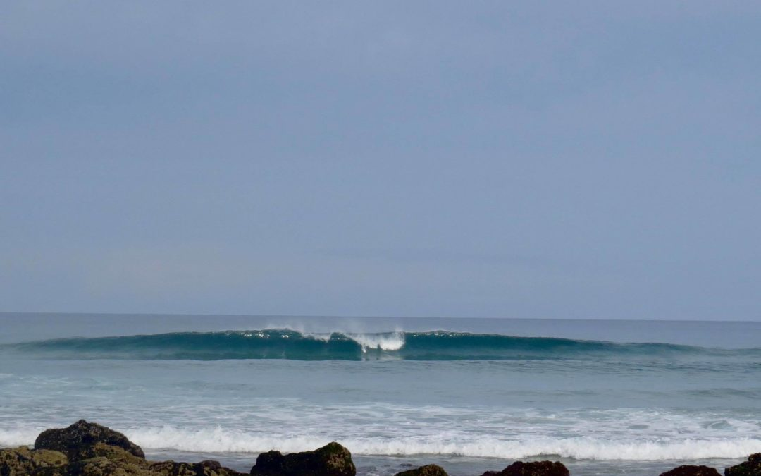 Bordeira surf, clean as butter