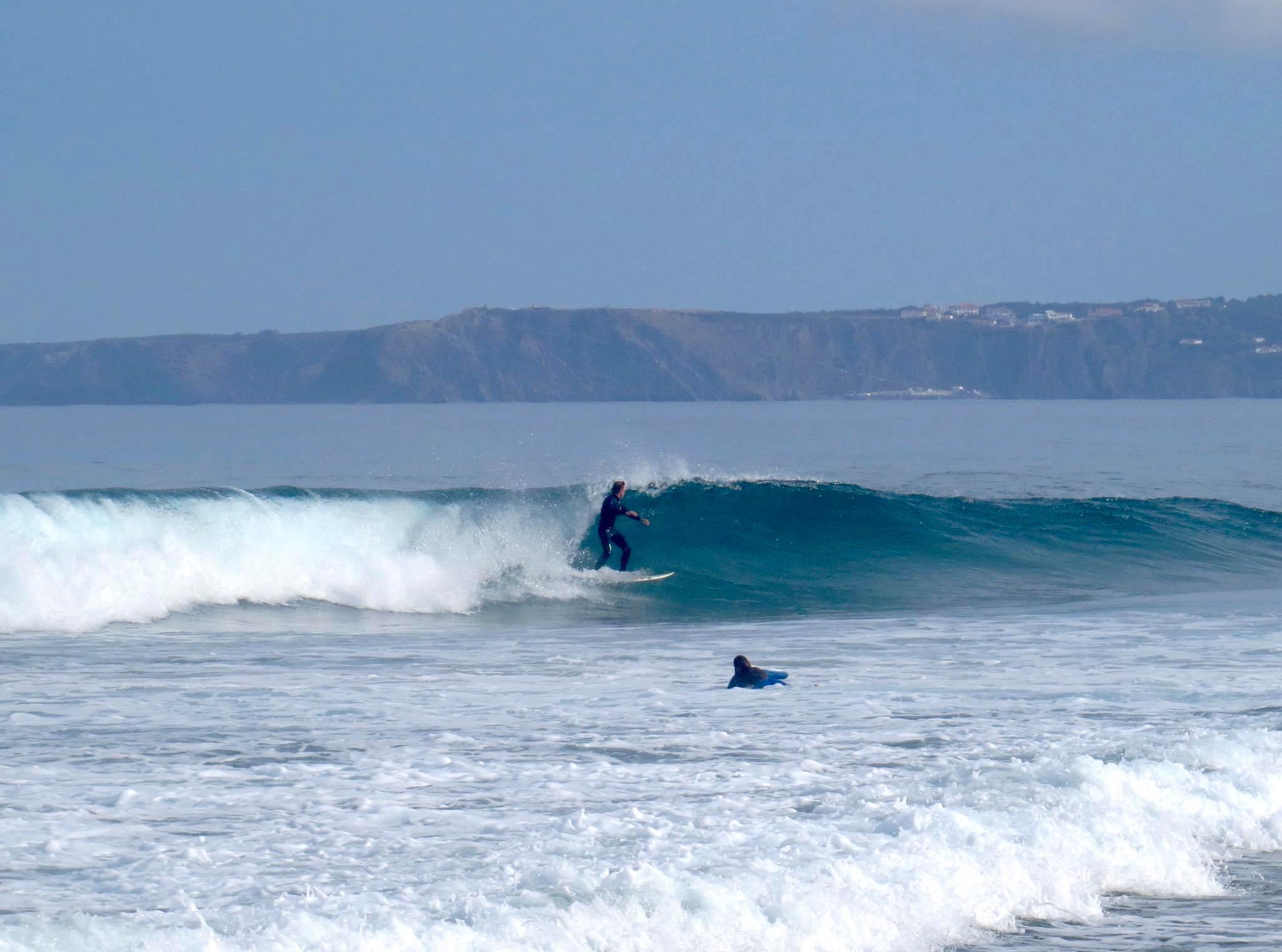 bordeira surf left