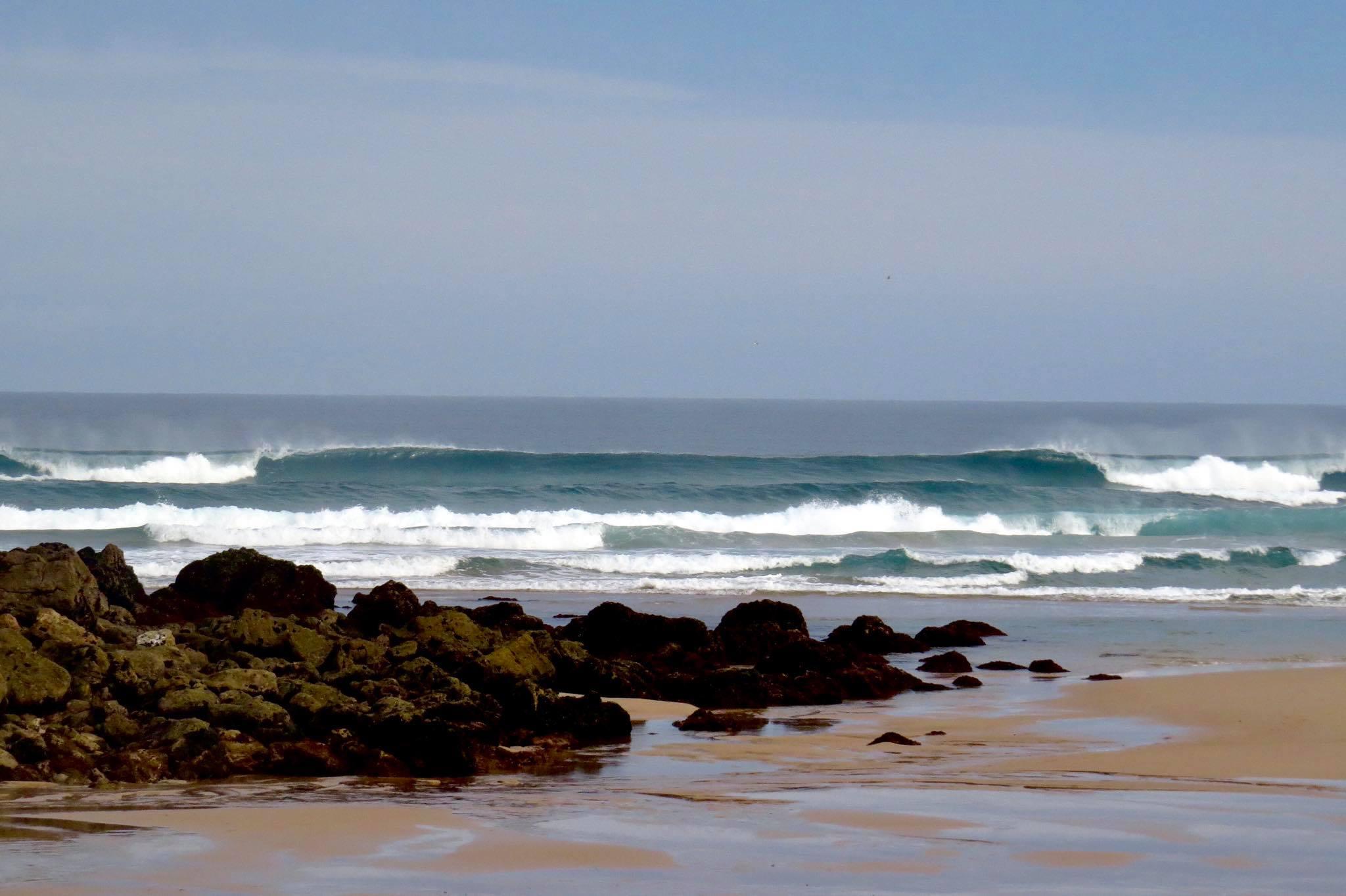 offshore waves bordeira