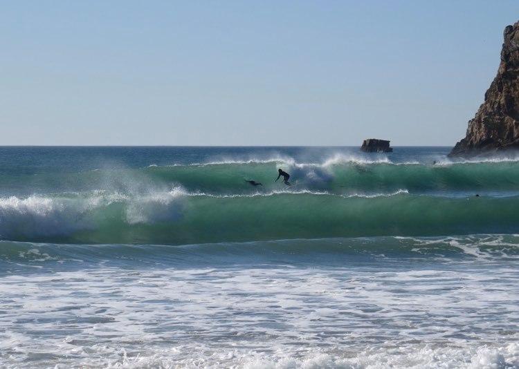 surfing algarve offshore