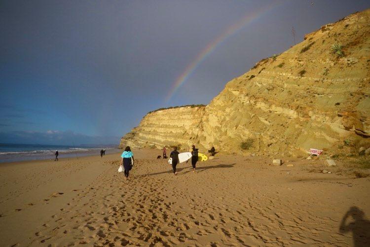 surfguide-algarve-porto-de-mos-rainbow-1