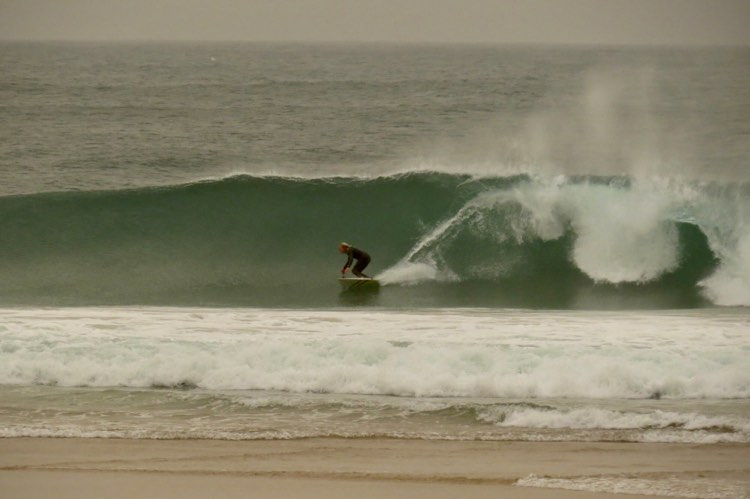 surfguide algarve tonel big wave