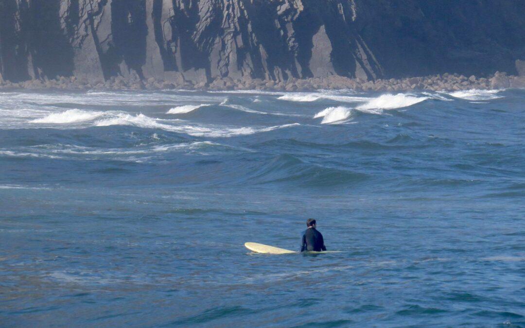 Castelejo surfguide Algarve summer surf session