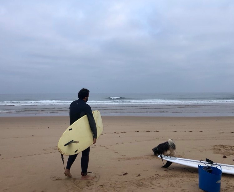 Old school Single fin perfect session private surfguiding Vila do Bispo