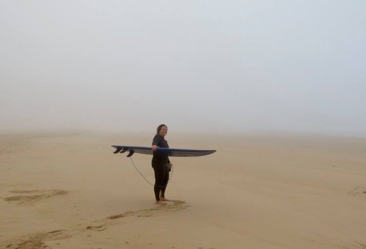 Mystic surf guide session at Castelejo beach